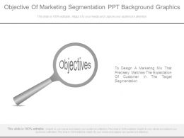 Objective Of Marketing Segmentation Ppt Background Graphics