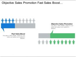 Objective Sales Promotion Fast Sales Boost Encourage Trial