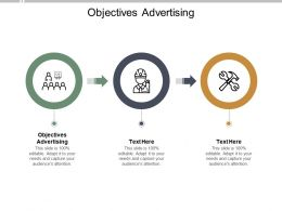 Objectives Advertising Ppt Powerpoint Presentation Ideas Smartart Cpb