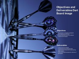 Objectives And Deliverables Dart Board Image