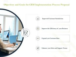 Objectives And Goals For CRM Implementation Process Proposal Ppt Download