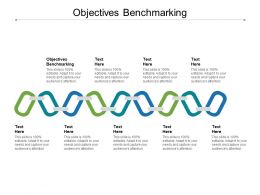 Objectives Benchmarking Ppt Powerpoint Presentation Styles Introduction Cpb