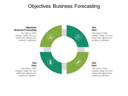 Objectives Business Forecasting Ppt Powerpoint Presentation Themes Cpb