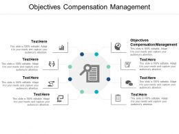 Objectives Compensation Management Ppt Powerpoint Presentation Layouts Introduction Cpb