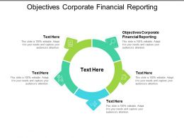 Objectives Corporate Financial Reporting Ppt Powerpoint Presentation Icon Skills Cpb