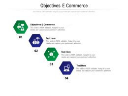Objectives E Commerce Ppt Powerpoint Presentation Summary Demonstration Cpb