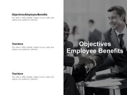 Objectives Employee Benefits Ppt Powerpoint Presentation Styles Templates Cpb