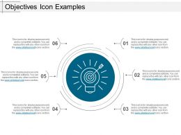 Objectives Icon Examples Ppt Inspiration
