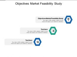 Objectives Market Feasibility Study Ppt Powerpoint Presentation Portfolio Backgrounds Cpb