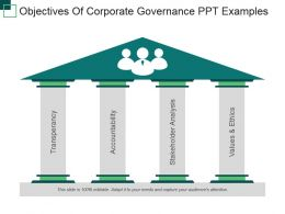 Objectives Of Corporate Governance Ppt Examples