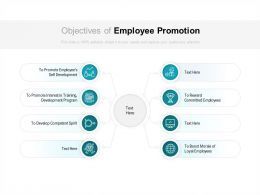 Objectives Of Employee Promotion