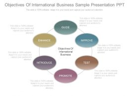 Objectives Of International Business Sample Presentation Ppt