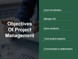 Objectives Of Project Management Presentation Backgrounds