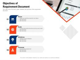 Objectives Of Requirement Document Requirement Gathering Methods Ppt Powerpoint Icons