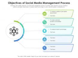 Objectives Of Social Media Management Process