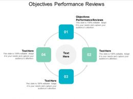 Objectives Performance Reviews Ppt Powerpoint Presentation Icon Good Cpb