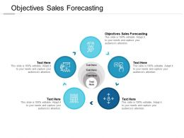 Objectives Sales Forecasting Ppt Powerpoint Presentation Deck Cpb