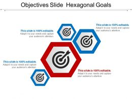Objectives Slide Hexagonal Goals