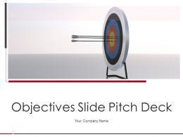 Objectives Slide Pitch Deck Ppt Template