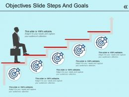Objectives Slide Steps And Goals