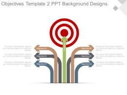 Objectives Template2 Ppt Background Designs