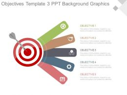 Objectives Template3 Ppt Background Graphics