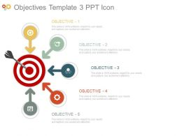 Objectives Template3 Ppt Icon