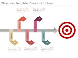 Objectives Template Powerpoint Show