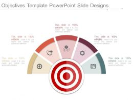 Objectives Template Powerpoint Slide Designs