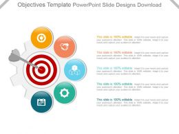 Objectives Template Powerpoint Slide Designs Download
