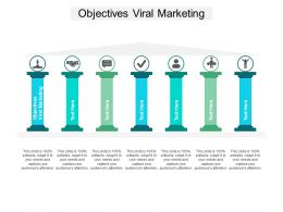 Objectives Viral Marketing Ppt Powerpoint Presentation Infographics Good Cpb