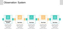 Observation System Ppt Powerpoint Presentation Portfolio Graphic Images Cpb