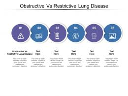 Obstructive Vs Restrictive Lung Disease Ppt Powerpoint Presentation Pictures Professional Cpb