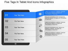 oc_five_tags_in_tablet_and_icons_infographics_powerpoint_template_Slide01