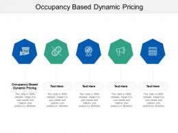 Occupancy Based Dynamic Pricing Ppt Powerpoint Presentation Gallery Example Cpb