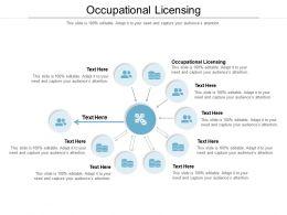 Occupational Licensing Ppt Powerpoint Presentation Inspiration Slide Portrait Cpb