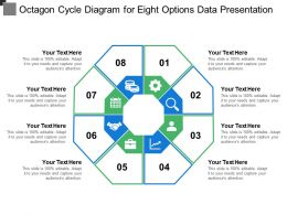 Octagon Cycle Diagram For Eight Options Data Presentation