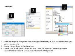 October 2013 Calendar PowerPoint Slides PPT templates