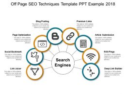 Off Page Seo Techniques Template Ppt Example 2018