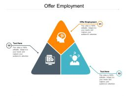 Offer Employment Ppt Powerpoint Presentation Pictures Demonstration Cpb