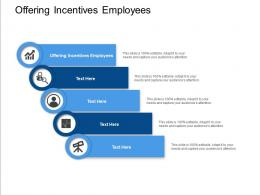 Offering Incentives Employees Ppt Powerpoint Presentation Portfolio Sample Cpb