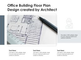 Office Building Floor Plan Design Created By Architect