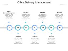 Office Delivery Management Ppt Powerpoint Presentation Portfolio Graphics Cpb