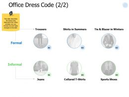 Office Dress Code Business Ppt Powerpoint Presentation Pictures Deck