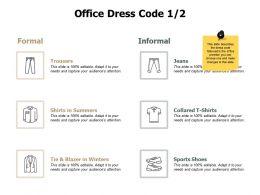 Office Dress Code Formal J210 Ppt Powerpoint Presentation File Deck