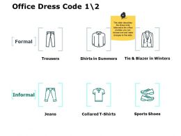 Office Dress Code Formal Ppt Powerpoint Presentation File Graphics
