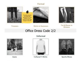 Office Dress Code Informal J211 Ppt Powerpoint Presentation File Good