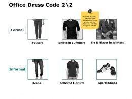 Office Dress Code Informal Ppt Powerpoint Presentation File Ideas