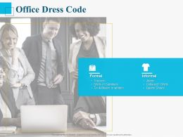 Office Dress Code Ppt Powerpoint Presentation Summary Pictures