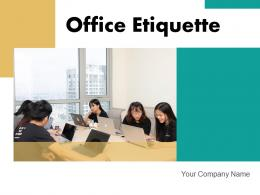 Office Etiquette Harmony Business Communication Workforce Employees